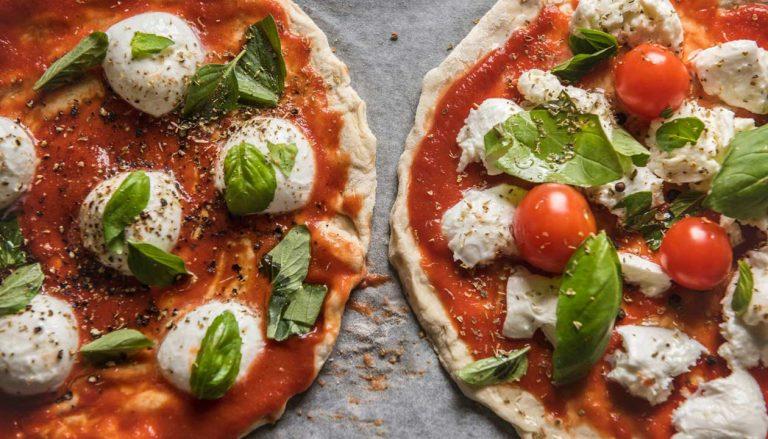 GIornata Interazionale della Pizza - Due margherite